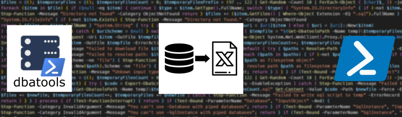 From SQL to Excel with PowerShell